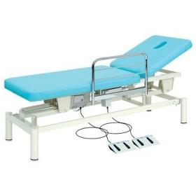 ◇サイズ選択有◇電動昇降ベッド 背上げ機能 F型ガード付 有孔レガロ TB-189U