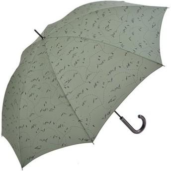 ニフティカラーズ(Nifty Colors) 長傘 マウンテン カーキ 8本骨 65cm 5063KH 通勤通学 雨具 レイングッズ アンブレラ かさ