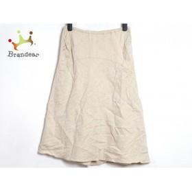 アンナモリナーリ ANNA MOLINARI スカート サイズ40(I) M レディース ベージュ         スペシャル特価 20190517