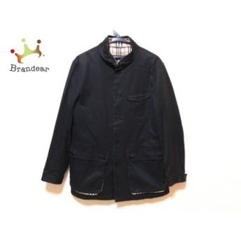 バーバリーブラックレーベル Burberry Black Label コート サイズM レディース 黒 春・秋物 スペシャル特価 20190305