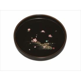 10.0丸盆 黒 やよい桜