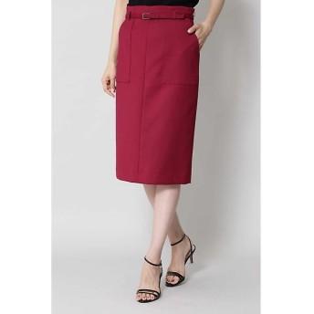 BOSCH / ボッシュ [ウォッシャブル]ベルテッドポケットタイトスカート