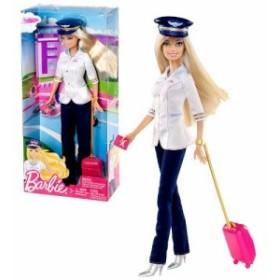 バービー Mattel マテル Year 2013 Barbie I Can Be Series 12 Inch Doll Set - PILOT Barbie (W3739) wi