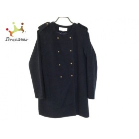 ビアンカ Bianca コート サイズ38 M レディース ダークネイビー 冬物         スペシャル特価 20190124