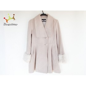 リエンダ rienda コート サイズS レディース ベージュ 冬物               スペシャル特価 20190215