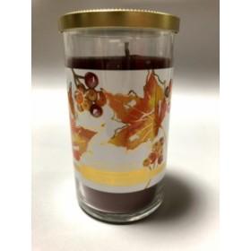 香りを楽しむ 大型 Yankee Candle ヤンキーキャンドル Autumn Wreath ラージピラー キャンドル 12oz Perfec