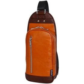 トロイブロス(Troy Bros) 牛革 ボディバッグ キャメル 07003 通勤通学 バッグ 鞄 カジュアル バック