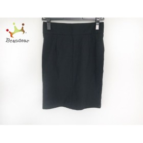 グーコミューン GOUT COMMUN スカート サイズ38 M レディース 黒           スペシャル特価 20190329