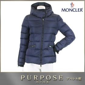モンクレール MONCLER ダウン ジャケット BETULA ベチュラ 中綿 ワッペン フード付き ネイビー サイズ 0 レディース