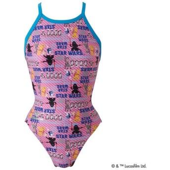 ミズノ ミディアムカット レディース ピンク Mizuno N2MA777864 水泳 競泳水着 女性用