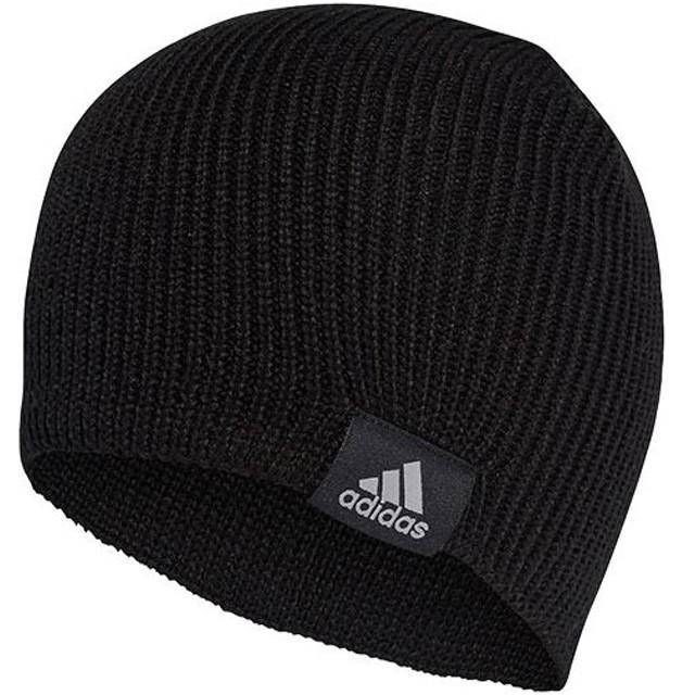 アディダス(adidas) パフォーマンス ビーニー ブラック/ブラック/MGHソリッドグレー OSFXサイズ EVR19 CY6025 帽子 ニット帽 ニットキャップ 防寒