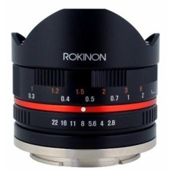 Rokinon 8mm F2.8 Ultra-Wide Fisheye Lens for Sony E-mount and Sony NEX Cameras 28FE8BK-SE Black