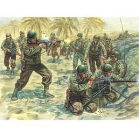 イタレリ 1/72 WW.II アメリカ軍歩兵【IT6120】プラモデル 【返品種別B】