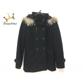 ルスーク Le souk コート サイズ38 M レディース 美品 黒 冬物  スペシャル特価 20190602