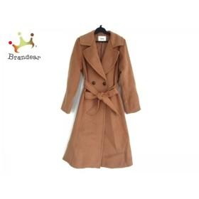 リリーブラウン Lily Brown コート サイズF レディース 美品 ライトブラウン 冬物         スペシャル特価 20190903