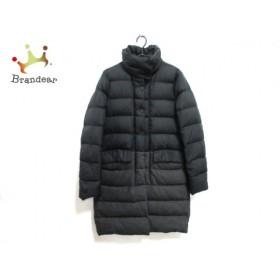 デュベティカ DUVETICA ダウンコート サイズ42 M レディース ENNONA 黒×グレー 冬物         スペシャル特価 20190224