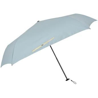 コンバース(CONVERSE) 折りたたみ傘 軽量スニーカー刺繍付アンブレラ サックス 5本骨 50cm 20131 雨具 レイングッズ 自転車 通勤通学 アウトドア