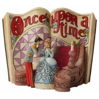 シンデレラ ディズニートラディションエネスコ 木彫り調 ストーリーブック フィギュア ジ