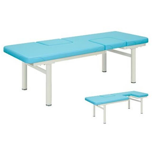 高田ベッド サイズ選択可能 診察台 医療 治療 点滴用ベッド 処置マット付 ツインマールオフ(無孔) TB-193