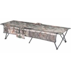 オザークトレイル インスタントコット キャンプ用ベッド 折りたたみベッド 迷彩柄 耐荷重113kg