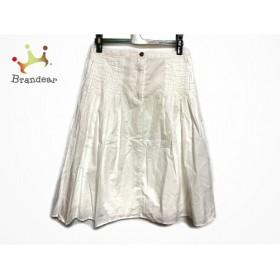 グランマママドーター GRANDMA MAMA DAUGHTER スカート サイズ0 XS レディース 美品 白 プリーツ           スペシャル特価 20191008