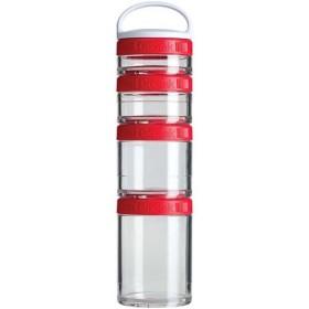 ブレンダーボトル(Blender Bottle) ゴースタック レッド BBGSS4P RD ボトル ケース ストッカー 容器 粉末 サプリメント プロテイン