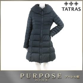 タトラス TATRAS ウール ダウンコート ネイビー ロング 2サイズ レディース
