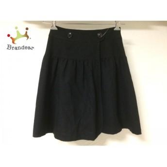 ヨークランド YORKLAND 巻きスカート レディース 黒 スペシャル特価 20190628