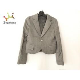 ディスコバレー DISCO VALLEY ジャケット サイズF レディース グレー×ライトグレー×レッド               スペシャル特価 20190811