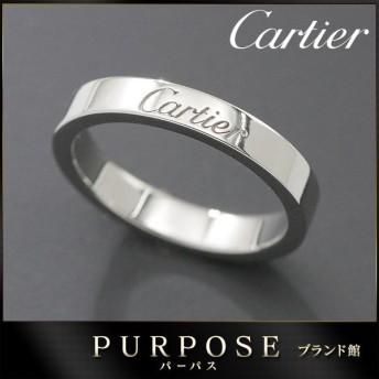 カルティエ Cartier エングレーブド リング #47 Pt950 プラチナ 指輪 【証明書付き】