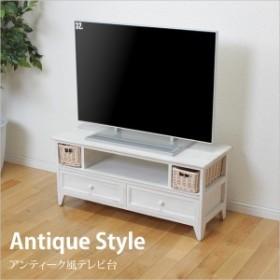 テレビ台 アンティーク風 幅90cm TV台 テレビボード 木製 コンパクト TV台 TVボード シンプル TVラック