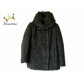 アンタイトル UNTITLED ダウンジャケット サイズ0 XS レディース 美品 ダークグレー 冬物 値下げ 20190523