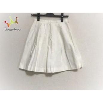 アプワイザーリッシェ Apuweiser-riche スカート サイズ0 XS レディース 美品 白 プリーツ                   スペシャル特価 20191029