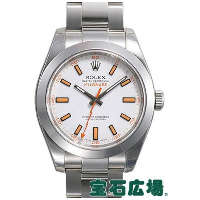 check out a0294 963e6 ロレックス ROLEX ミルガウス 116400 新品 腕時計 メンズ 通販 ...