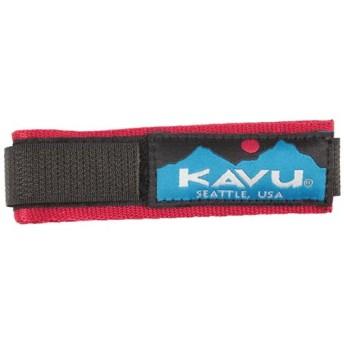 カブー(KAVU) KAVU ウォッチバンド ソリッドレッド 11863003144 時計 ベルト カジュアル アウトドア アクセサリ