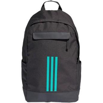 アディダス(adidas) クラシック 3Sバックパック カーボンS18/ハイレゾアクアF18 Mサイズ DUW63 DM7672 リュックサック デイパック スポーツバッグ 鞄