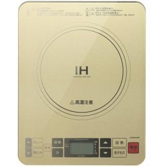 コイズミ KIH-1403-N(ゴールド) IHクッキングヒーター