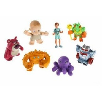 Disney (ディズニー) Pixar (ピクサー) Toy Story 3 (トイストーリー3) Buddy フィギュアs 7-Pack - Lots