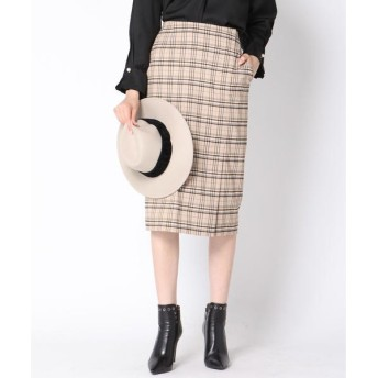 VICKY / ビッキー チェックタイトスカート