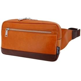 トロイブロス(Troy Bros) 牛革 ウエスト キャメル 07001 通勤通学 バッグ 鞄 カジュアル バック