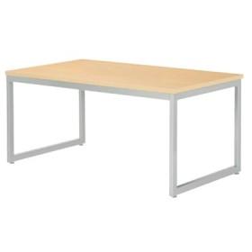 会議テーブル 幅1500mm 奥行900mm ミーティングテーブル シンプル オフィス 会議室 オフィステーブル オフィス家具 角型テーブル QB-1590