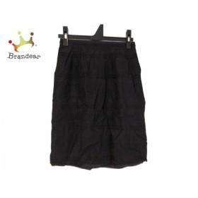 ボディドレッシングデラックス BODY DRESSING Deluxe スカート サイズ34 S レディース 黒 ラメ                 スペシャル特価 20190728