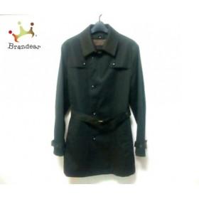 ムッシュニコル monsieur NICOLE コート サイズ50 メンズ ダークブラウン 冬物           スペシャル特価 20190211