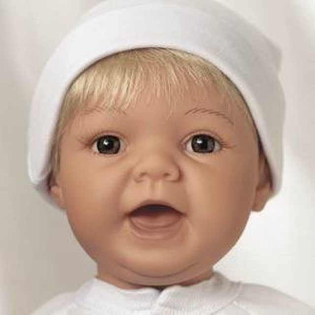 【リーミドルトン】新生児 Sweet Baby ブロンド/茶色 #993/赤ちゃん人形/ベビードール