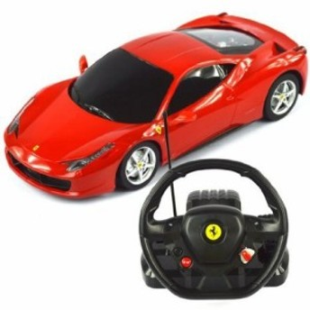 1:18 Scale Ferrari 458 Italia Model ラジコンカー With Steering controller (COLOR: RED) おもちゃ