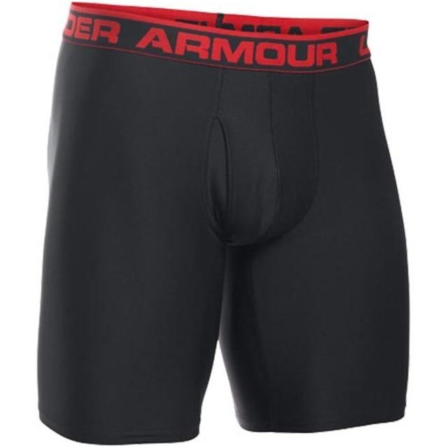 アンダーアーマー(UNDER ARMOUR) UA オリジナル 9 BOXERJOCK ヒートギア 1277240 001 BLACK/RED アンダーウェア メンズ ボクサーパンツ 下着