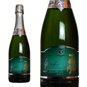 嘉yoshi スパークリング ピノ・シャルドネ 高畠ワイナリー 750ml (日本 スパークリングワイン 白 日本ワイン)