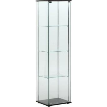 【最大1万円クーポン9/15〜19】コレクションケース ガラスコレクションケース ガラス ディスプレイ ディスプレイラック ガラスケース 4段 TMG-G21