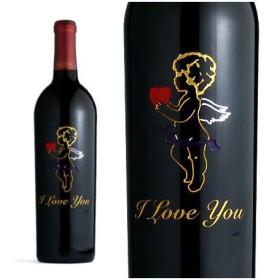 クロ・デュ・ヴァル ・クラシック メルロー 2009年 限定ハートラベルエッチングボトル (アメリカ・赤ワイン)