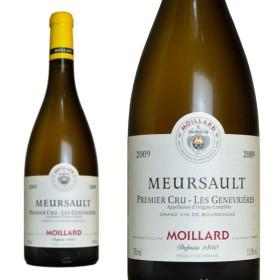ムルソー プルミエ・クリュ ジュヌヴリエール 2009年 モワラール社 正規 750ml (フランス ブルゴーニュ 白ワイン)